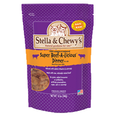 Stella and Chewys Super Beef A Licious Dinner for Cats