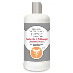 Synergy Labs Veterinary Formula Clinical Care Antiseptic and Antifungal Medicated Shampoo