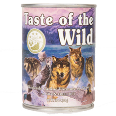 Taste of the Wild Wetlands Can
