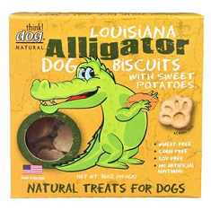 Think Dog Louisiana Alligator with Sweet Potatoes Biscuits