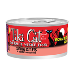 Tiki Cat Bora Bora Luau Cans