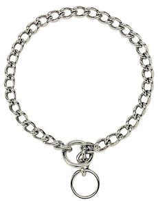 Titan by Coastal Chrome Plated Chain Choke Collars