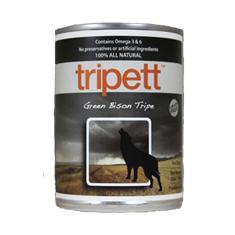 Tripett Green Bison Tripe Cans