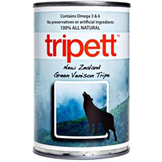 Tripett New Zealand Green Venison Tripe