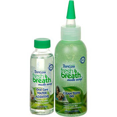 Tropiclean Fresh Breath Clean Teeth Gel Kit