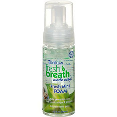 TropiClean Fresh Breath Fresh Mint Foam