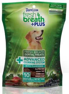 Tropiclean Fresh Breath Plus Advanced Cleaning System