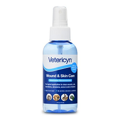 Vetericyn All Animal Wound and Skin Care Hydrogel Spray