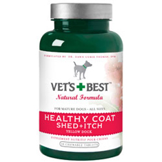 Vets Best Healthy Coat Shed and Itch