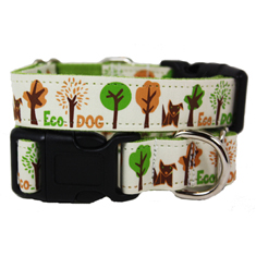 Wagging Green Eco Dog Collar