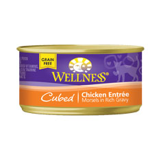 Wellness Cat Canned Cubed Chicken Recipe