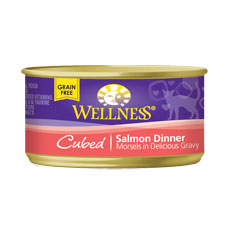 Wellness Cat Canned Cubed Salmon Recipe