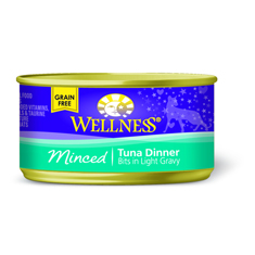 Wellness Cat Canned Minced Tuna Recipe