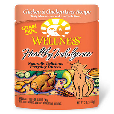 Wellness Healthy Indulgence Chicken and Chicken Liver