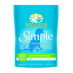 Wellness Simple Solutions Lamb and Oatmeal Dry Dog Food