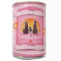 Weruva Amazon Liver Can Dog