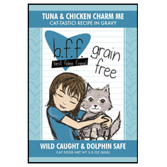 Weruva BFF Tuna and Chicken Charm Me Pouch