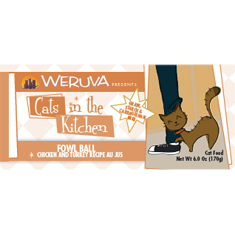 Weruva Cats in the Kitchen Fowl Ball Cans