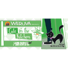 Weruva Cats in the Kitchen Lamb Burgerini Cans