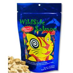 WildSide Salmon Cat Treats