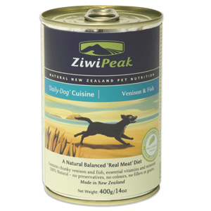 ZiwiPeak Venison and Fish Cans Dog