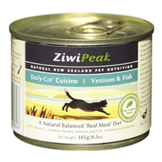 ZiwiPeak Venison and Fish Cans for Cat
