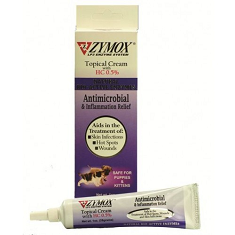 Zymox Cream for Hot Spots and Skin Infections